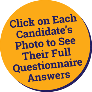Click on Each Candidates Photo to See Their Full Answers